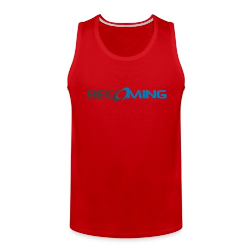 Becoming Mens Logo Tank Premium - Men's Premium Tank