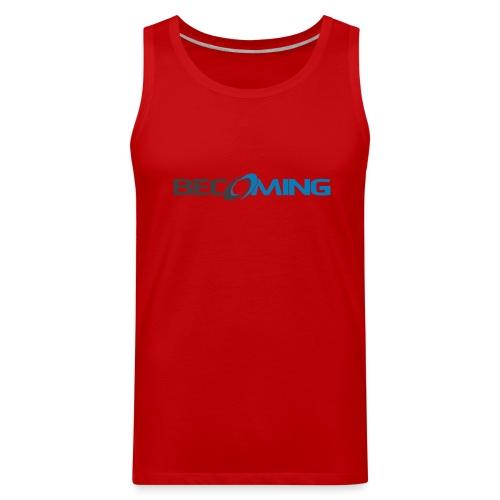 Becoming Mens Logo Tank Premium - Men's Premium Tank