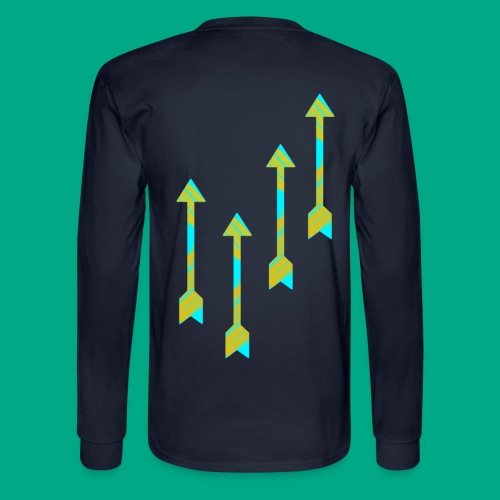 Arrow - Men's Long Sleeve T-Shirt