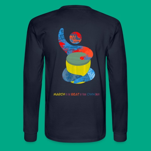 March to the Beat 2 - Men's Long Sleeve T-Shirt