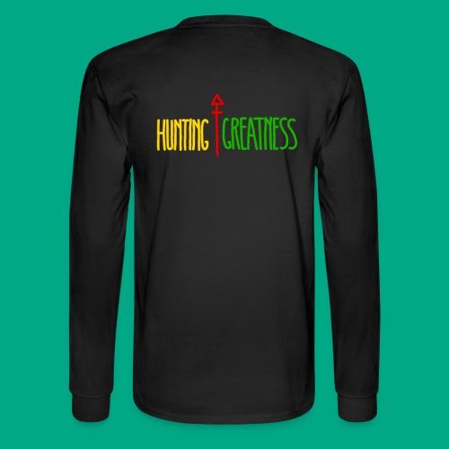 Hunting Greatness - Men's Long Sleeve T-Shirt