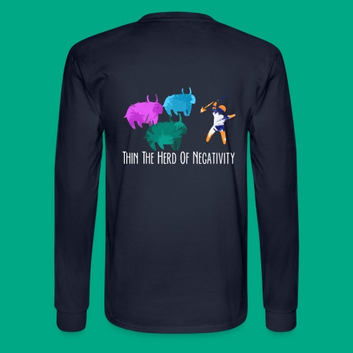 Thin Herd - Men's Long Sleeve T-Shirt