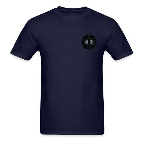 Aztec Eye - Navy - Men's T-Shirt