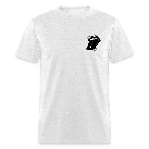 Acid Tongue - Grey - Men's T-Shirt