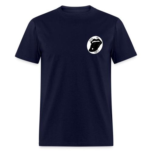 Acid Tongue - Navy - Men's T-Shirt