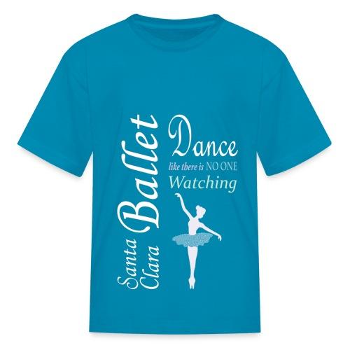 Kids T - Dance  - Light Logo - Kids' T-Shirt