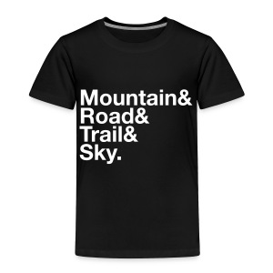 Toddler MTGE Where We Run T-shirt - Toddler Premium T-Shirt