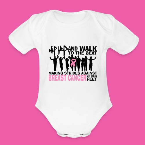 Hip-Hop & Walk Babies short sleeve  - Organic Short Sleeve Baby Bodysuit