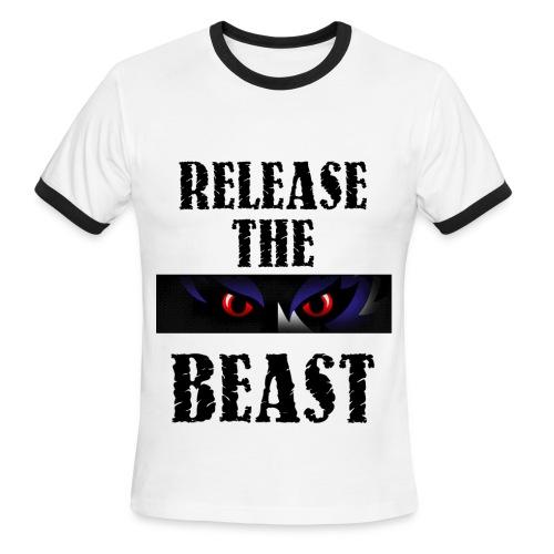 The Beast - Men's Ringer T-Shirt