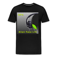 T-Shirts ~ Men's Premium T-Shirt ~ Alien Face Lift Digital :: T-shirt