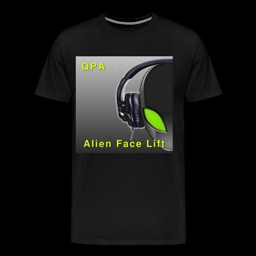 Alien Face Lift Digital :: T-shirt - Men's Premium T-Shirt