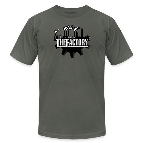 The factory logo tee - Men's Fine Jersey T-Shirt