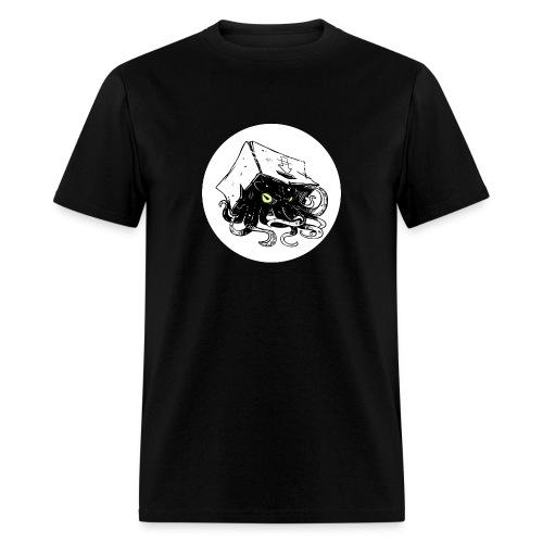 Squid In A Box Logo - Mens Tee - Men's T-Shirt