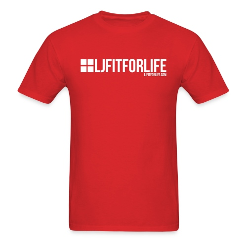 Official LJFITFORLIFE.com logo - Men's T-Shirt