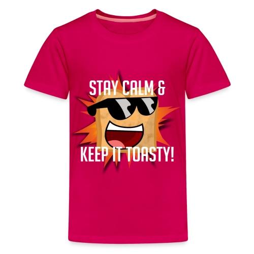 Toasty T-Shirt Girl's Youth Small - Kids' Premium T-Shirt