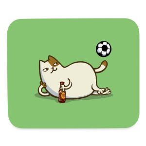 Friday Cat №16 - Mouse pad Horizontal
