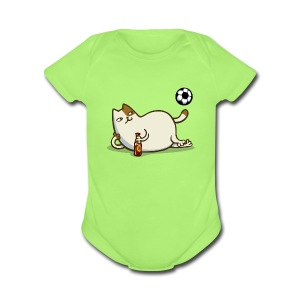 Friday Cat №16 - Short Sleeve Baby Bodysuit