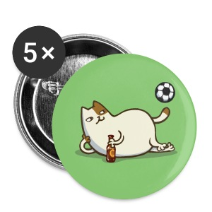 Friday Cat №16 - Large Buttons