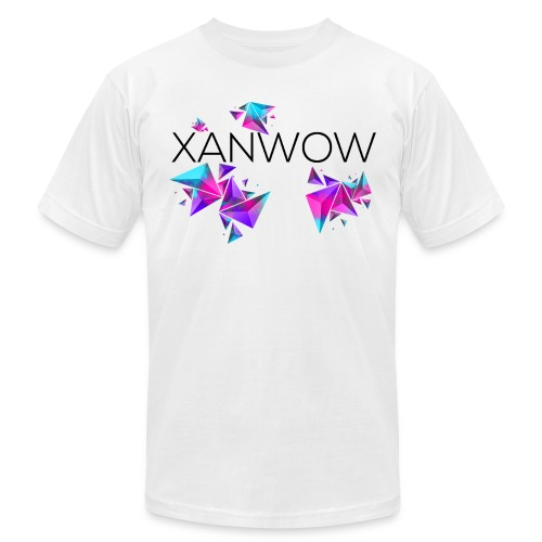 Xanwow Neon Black Logo - Men's Fine Jersey T-Shirt