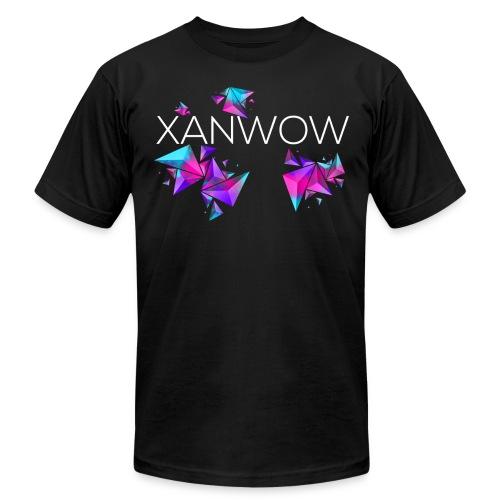 Xanwow Neon White Logo - Men's Fine Jersey T-Shirt