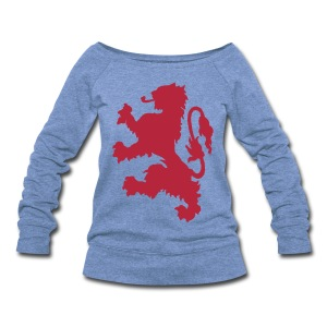 Scottish Lion - Women's Wideneck Sweatshirt