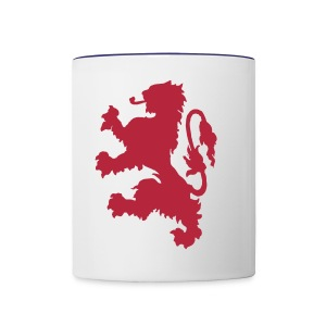 Scottish Lion - Contrast Coffee Mug