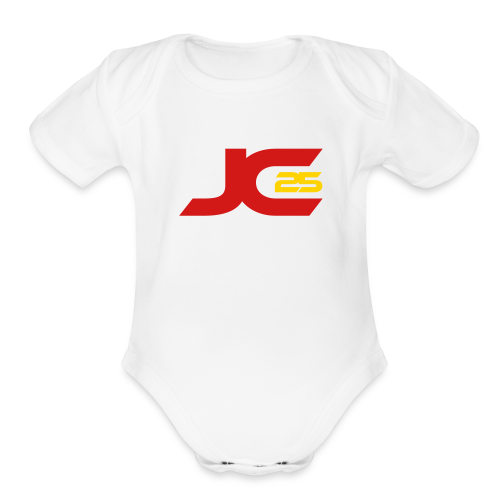 JC25 Signature One Piece - Organic Short Sleeve Baby Bodysuit