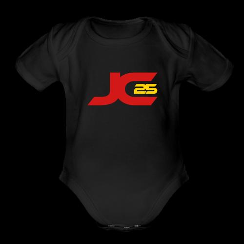 JC25 Signature One Piece - Organic Short Sleeve Baby Bodysuit