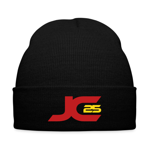 JC25 Beanie - Knit Cap with Cuff Print