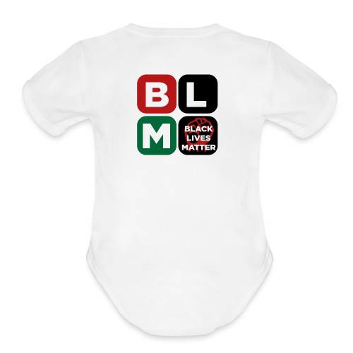 Black Lives Matter Baby   - Organic Short Sleeve Baby Bodysuit