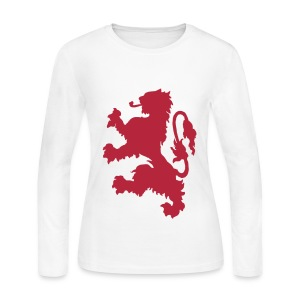 Scottish Lion - Women's Long Sleeve Jersey T-Shirt
