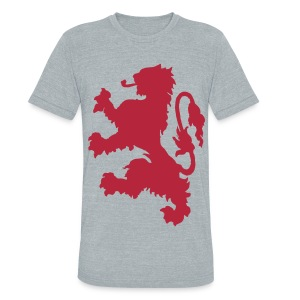 Scottish Lion - Unisex Tri-Blend T-Shirt by American Apparel