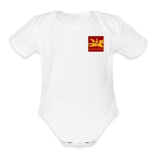 Baby Onesie   - Organic Short Sleeve Baby Bodysuit
