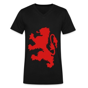 Scottish Lion - Men's V-Neck T-Shirt by Canvas