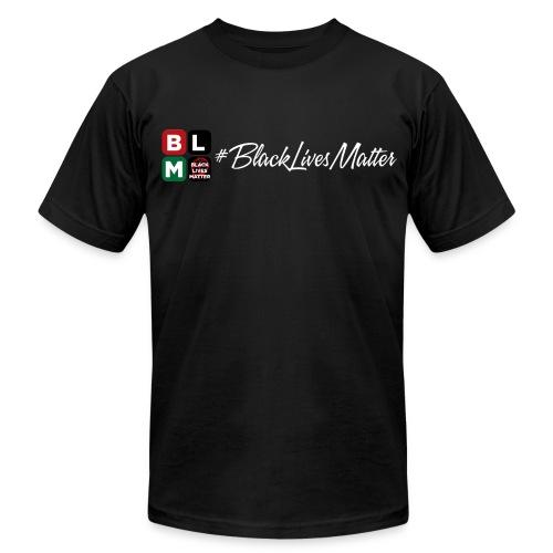 Black Lives Matter Big Man  - Men's  Jersey T-Shirt