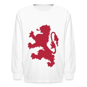 Scottish Lion - Kids' Long Sleeve T-Shirt