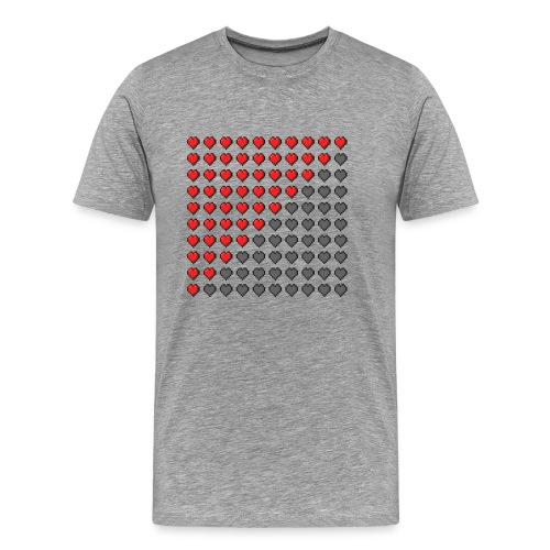 Heart Bar - Men's Premium T-Shirt