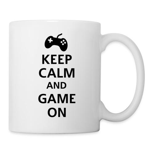 Keep Calm and Game On Mug - Coffee/Tea Mug