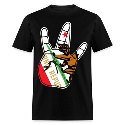 WEST SIDE  KALI W/ LOGO ON BACK - Men's T-Shirt