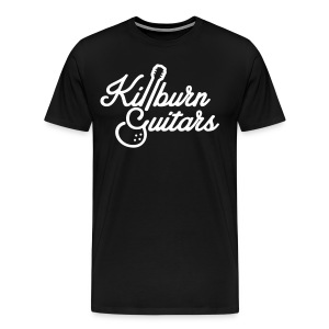 Killburn Guitars White Logo Tee - Men's Premium T-Shirt
