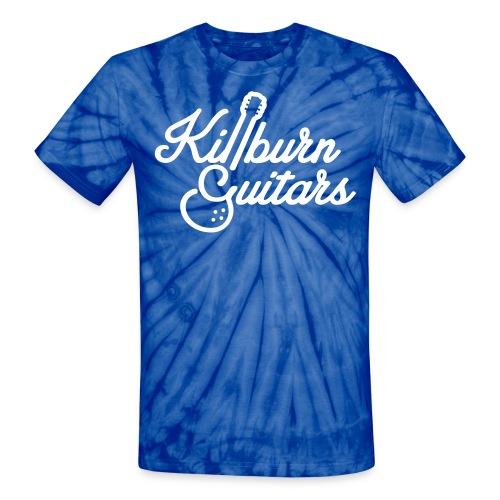 Killburn Guitars Tie Dye Tee - Unisex Tie Dye T-Shirt