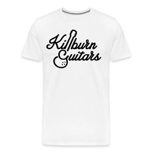 Killburn Guitars Black Logo Tee - Men's Premium T-Shirt