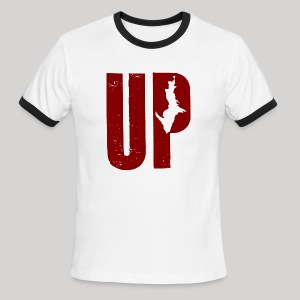 U.P. Michigan - Men's Ringer T-Shirt