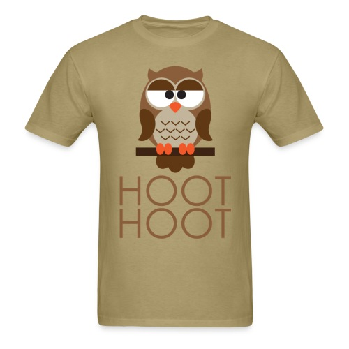 Hoot Hoot - Men's T-Shirt