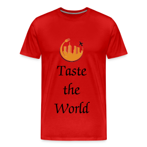 #TheHungryTeam Official Mens Red - Men's Premium T-Shirt