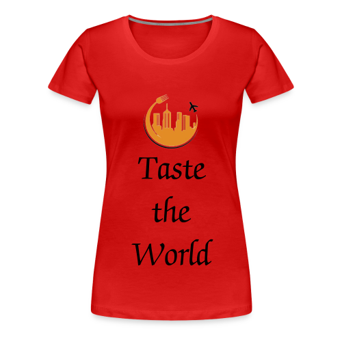 #TheHungryTeam Official Womens Red - Women's Premium T-Shirt