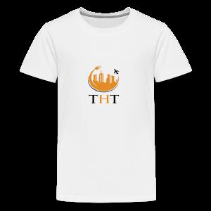 #TheHungryTeam Offical Kids White - Kids' Premium T-Shirt