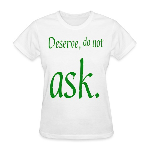 adorable text slogan - Women's T-Shirt