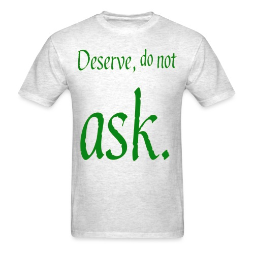 adorable text slogan - Men's T-Shirt