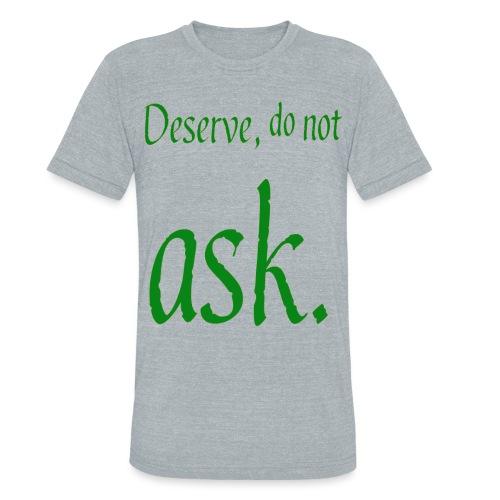 adorable text slogan - Unisex Tri-Blend T-Shirt